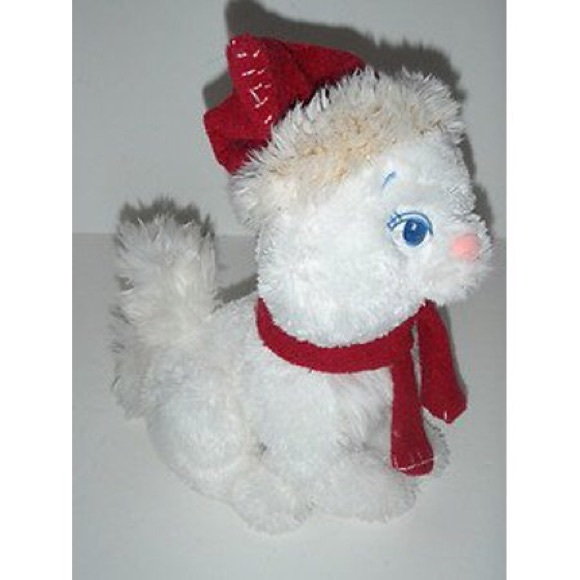 Marie Plush Disneys store Aristocats Christmas